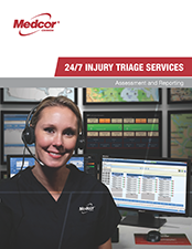 Medcor Canada's 24/7 Telephonic Injury Triage Service provides employers with a Triage Nurse Now, on the phone at the moment of injury.
