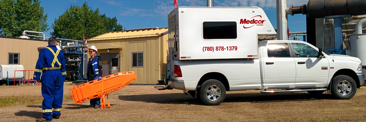 Medcor Canada's Mobile Treatment Centers (MTC) are great for many construction and remote projects and can respond to any emergency.
